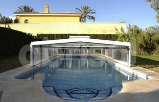 BCBJ Piscines & Spas - Perrignier - Abri de piscine bas
