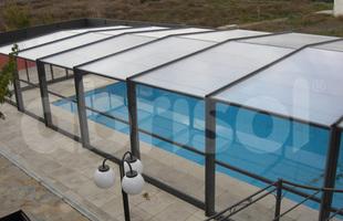 BCBJ Piscines & Spas - Perrignier - Abri de piscine haut